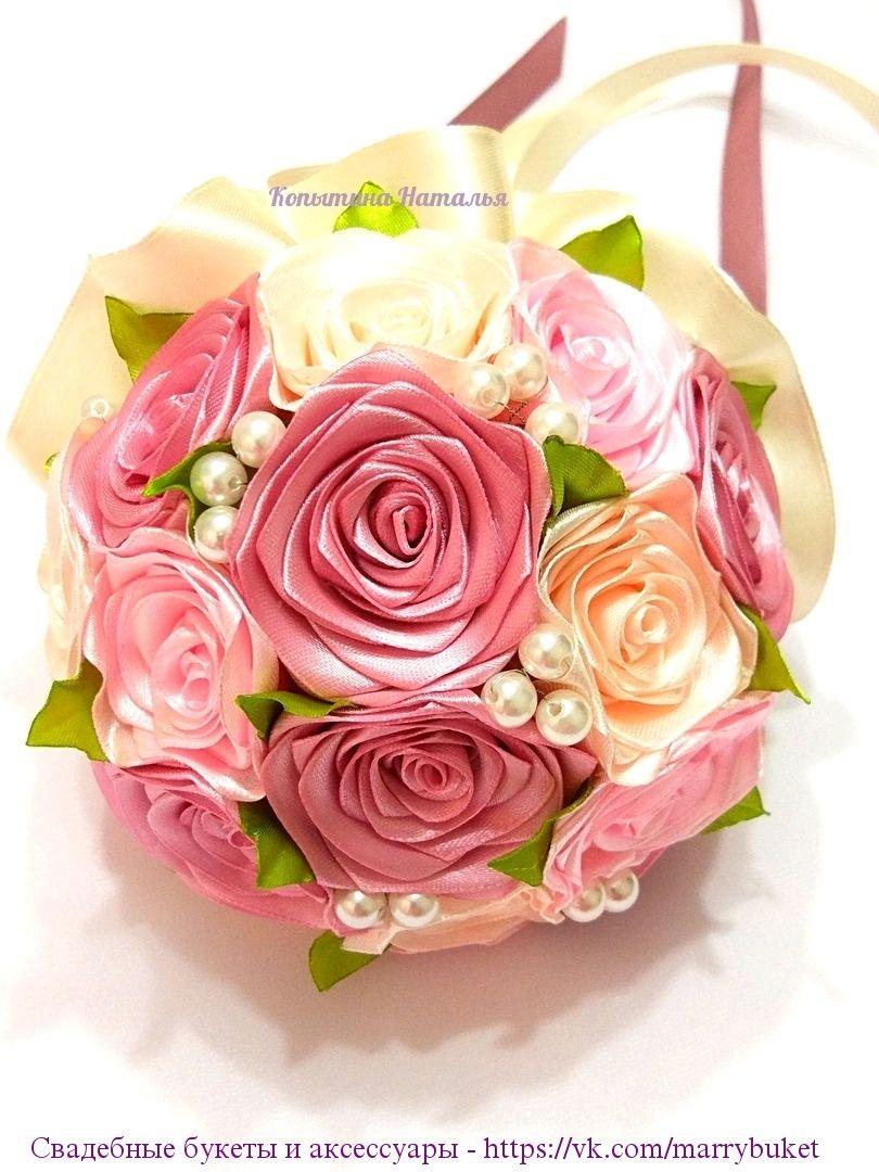 """Букет невесты """"Пудровые розы"""", Свадебные букеты, Санкт-Петербург,  Фото №1"""