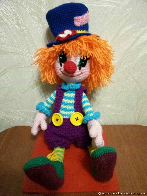 Клоун, Мягкие игрушки, Новокузнецк,  Фото №1