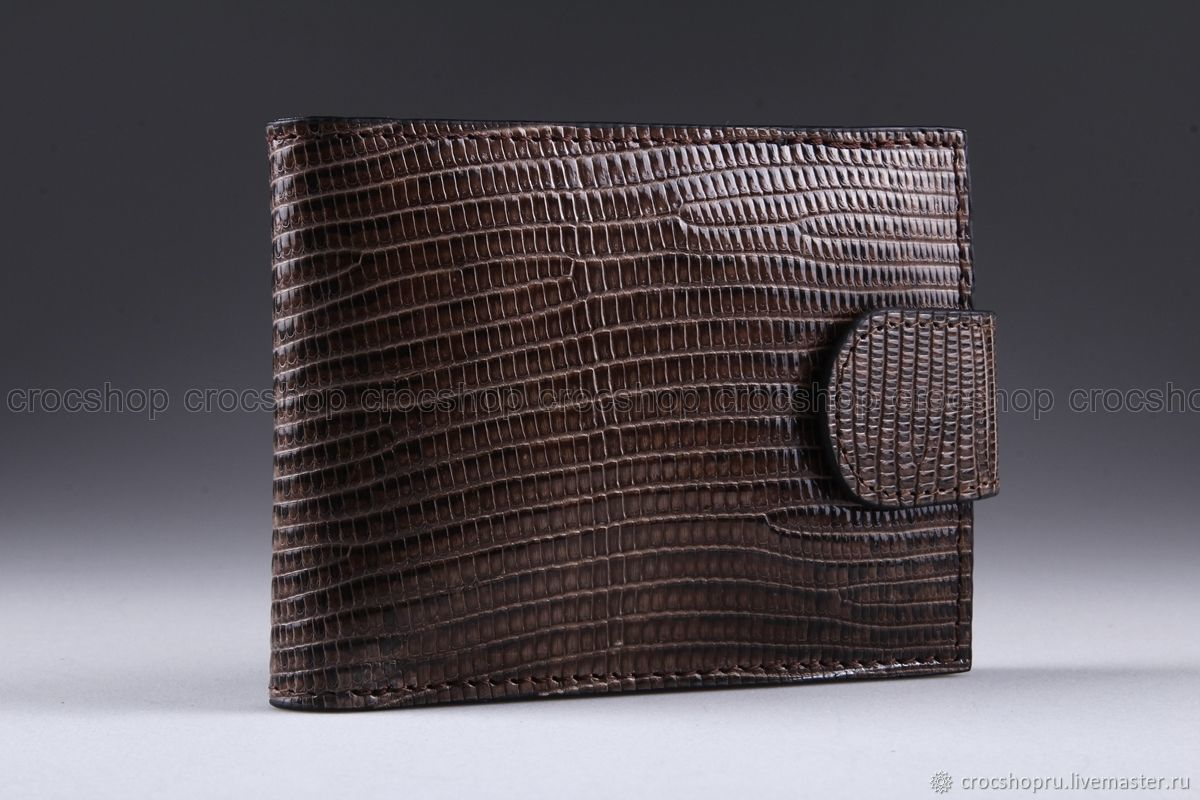 Monitor lizard leather wallet IMR0015VK, Wallets, Moscow,  Фото №1