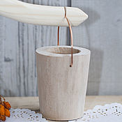 Blanks for decoupage and painting handmade. Livemaster - original item The yoke 2 buckets (33cm). Handmade.