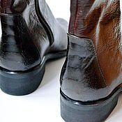 """Обувь ручной работы. Ярмарка Мастеров - ручная работа Сапоги """"Страусята"""". Handmade."""