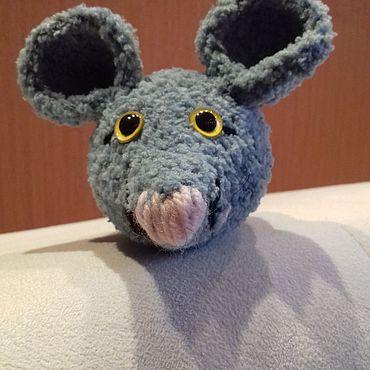 Куклы и игрушки ручной работы. Ярмарка Мастеров - ручная работа Игрушки: мышь. Handmade.