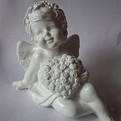 Ангела из гипса своими руками