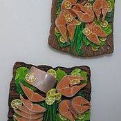 Для дома и интерьера ручной работы. Ярмарка Мастеров - ручная работа Магниты на холодильник. Handmade.