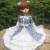 Куклы и игрушки handmade. Livemaster - original item Dress for MSD. Handmade.