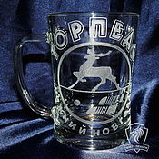 Посуда handmade. Livemaster - original item Fan. Beer mugs.. Handmade.