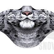 Одежда ручной работы. Ярмарка Мастеров - ручная работа Ветрозащитная маска Снежный барс. Handmade.