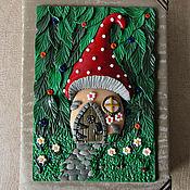 Канцелярские товары handmade. Livemaster - original item Notepad Magic forest handmade. Notepad from scratch. Handmade.