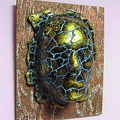 Для дома и интерьера handmade. Livemaster - original item Mask on the wall Mask Steampunk Stone Face. Handmade.