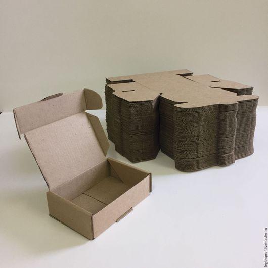 Коробочка из МГК бурого цвета 100х075х030 мм. (100 шт.)