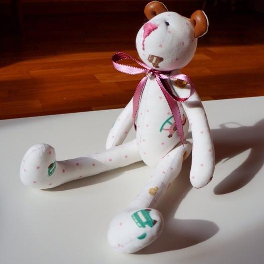 Куклы Тильды ручной работы. Ярмарка Мастеров - ручная работа. Купить Нежный мишка Тильда. Handmade. Мишка, тильда