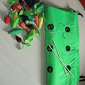 Куклы и игрушки ручной работы. Ярмарка Мастеров - ручная работа Грядка с овощями и фруктами. Handmade.