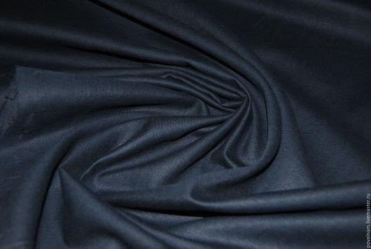 """Шитье ручной работы. Ярмарка Мастеров - ручная работа. Купить ОСТ: 50на100  Лён с шерстью """"Тёмно-графитовый"""". Handmade. Черный"""