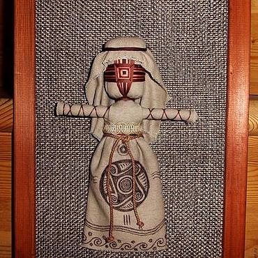 Картины и панно ручной работы. Ярмарка Мастеров - ручная работа Панно этническое.Трипольская кукла мотанка. Handmade.