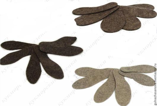 Обувь ручной работы. Ярмарка Мастеров - ручная работа. Купить Стельки войлочные. Handmade. Серый, войлочные стельки, зимние стельки