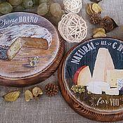 Для дома и интерьера handmade. Livemaster - original item Set cheese boards. Handmade.