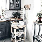 Для дома и интерьера handmade. Livemaster - original item Shelf with hooks for the kitchen. Handmade.