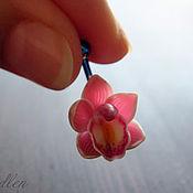 Украшения ручной работы. Ярмарка Мастеров - ручная работа ...Чувственность...серьга в пупок, орхидеи. Handmade.