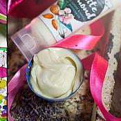"""Косметика ручной работы handmade. Livemaster - original item Крем-гель для снятия макияжа """"White Almond"""". Handmade."""