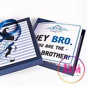 """Приглашения ручной работы. Ярмарка Мастеров - ручная работа Свадебные приглашения """"Hey, Bro"""". Handmade."""