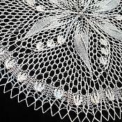 Для дома и интерьера handmade. Livemaster - original item Decorative napkins: Swipe: Napkin