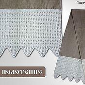 Русский стиль ручной работы. Ярмарка Мастеров - ручная работа Полотенце льняное. Handmade.