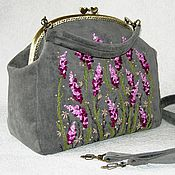 Сумки и аксессуары handmade. Livemaster - original item Bag with clasp: Bag with embroidery