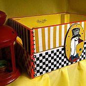 """Ящики ручной работы. Ярмарка Мастеров - ручная работа Ящик для хранения """" Вдохновляясь стилем Маккензи"""". Handmade."""