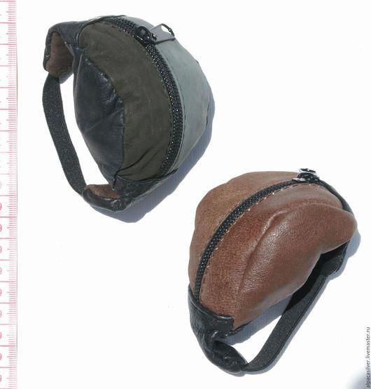 Кошельки и визитницы ручной работы. Ярмарка Мастеров - ручная работа. Купить Маленький кожаный кошелёк. Handmade. Коричневый, кожа