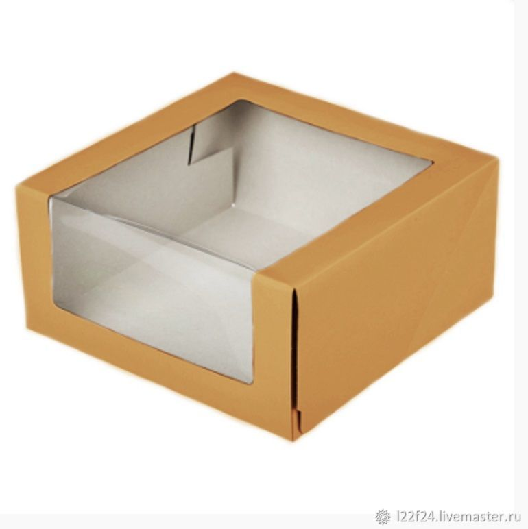 Коробка с окошком, Свадебные аксессуары, Москва, Фото №1