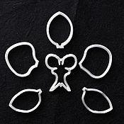 Материалы для творчества handmade. Livemaster - original item Set of cutters Orchid Phalaenopsis under Weiner. Handmade.