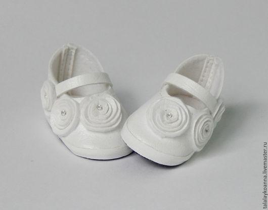 Одежда для кукол ручной работы. Ярмарка Мастеров - ручная работа. Купить Туфли для куклы (2). Handmade. Разноцветный, туфельки, кожзам