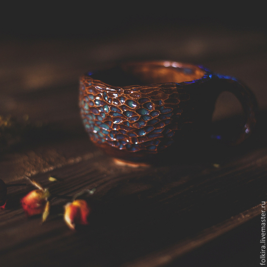 Кружки и чашки ручной работы. Ярмарка Мастеров - ручная работа. Купить Про лесных фей, светящиеся пни и светлячков. Handmade.