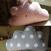 Для дома и интерьера ручной работы. Ярмарка Мастеров - ручная работа Розовое облачко подушка. Handmade.