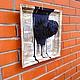"""Животные ручной работы. картина """"Мопс"""". Byratinkina. Интернет-магазин Ярмарка Мастеров. Бумага, ручная авторская работа, коллекция, интерьер"""