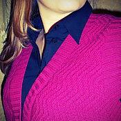 """Одежда ручной работы. Ярмарка Мастеров - ручная работа Вязаный жилет """"Баланс"""". Handmade."""
