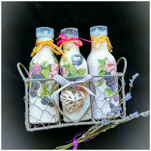 """Персональные подарки ручной работы. Ярмарка Мастеров - ручная работа. Купить Набор вазочек  для цветов на подставке  """"Сердце"""". Handmade. Розовый"""