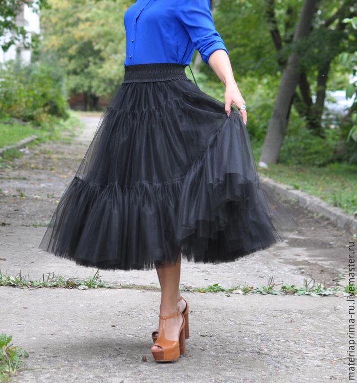 Пышная юбка своими руками для женщин