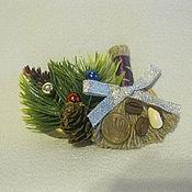 """Подарки к праздникам ручной работы. Ярмарка Мастеров - ручная работа магнит """"Новогодний"""". Handmade."""