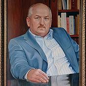 Картины и панно handmade. Livemaster - original item Ceremonial portrait in oil on canvas.. Handmade.