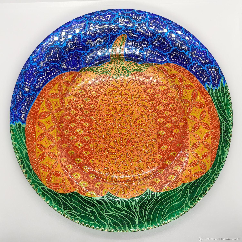 Тарелка обеденная/декоративная Большая тыква, Тарелки, Санкт-Петербург,  Фото №1