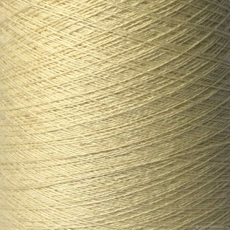 Пряжа Кашемир 2/28 светло-желтый – купить на Ярмарке Мастеров – NE7NSRU | Пряжа, Санкт-Петербург