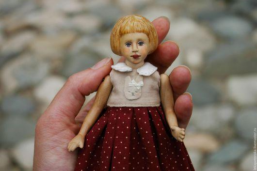 Коллекционные куклы ручной работы. Ярмарка Мастеров - ручная работа. Купить Деревянная кукла Оленька. Handmade. Рыжий, коллекционная кукла