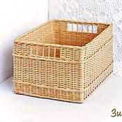 Для дома и интерьера ручной работы. Ярмарка Мастеров - ручная работа Плетеная корзина Манго. Handmade.