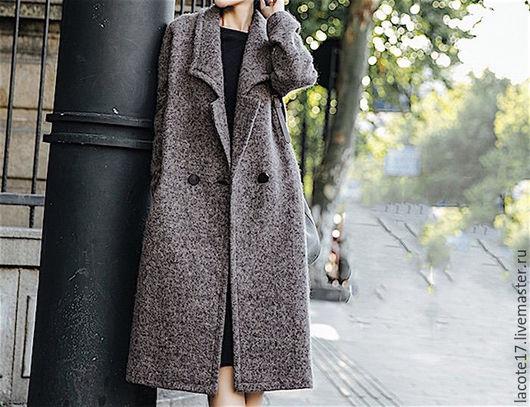 """Верхняя одежда ручной работы. Ярмарка Мастеров - ручная работа. Купить Пальто """"стиль"""". Handmade. Комбинированный, пальто зимнее"""
