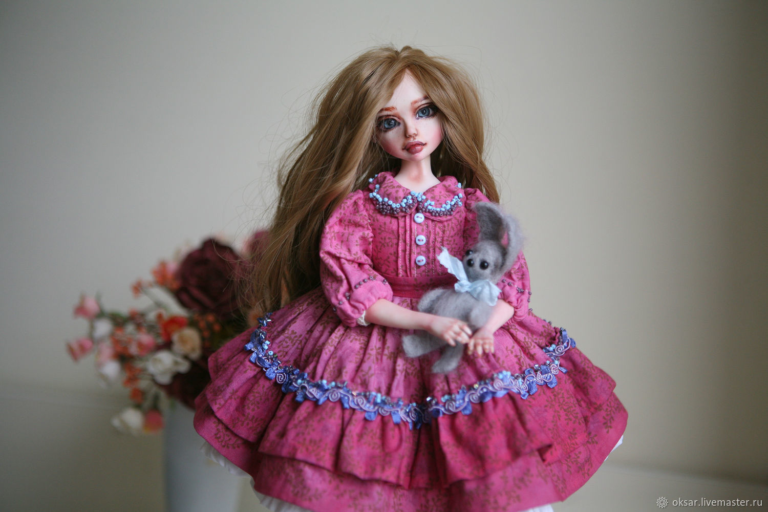 Doll custom made by pictures of Bonita, Portrait Doll, Stary Oskol,  Фото №1