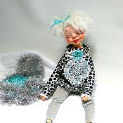 Куклы и игрушки handmade. Livemaster - original item Kraft doll Good mood. Handmade.