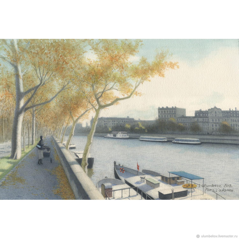 """Картины для интерьера в стиле прованс """"Paris. L'automne"""", Pictures, Moscow,  Фото №1"""