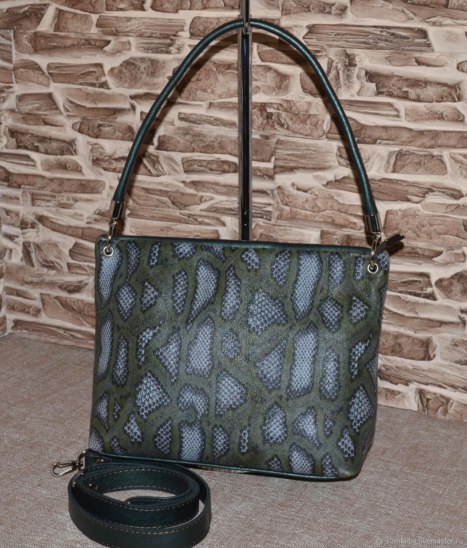 Model 108 classic bag: Bag leather women's walking Bag, Classic Bag, Bogorodsk,  Фото №1