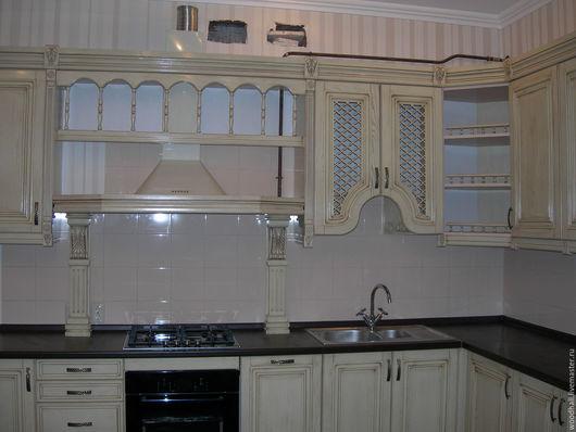 кухня из массива дерева для вашего дома под заказ по вашим размерам